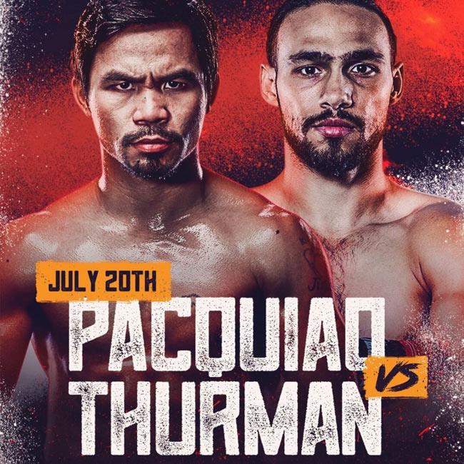 Pacquiao vs Thurman Fight Night