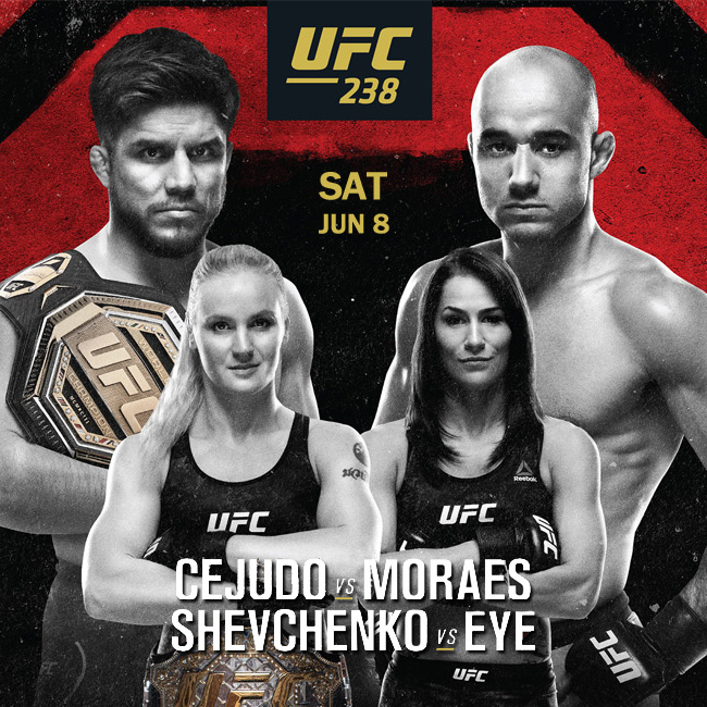 UFC 238 at Hoops